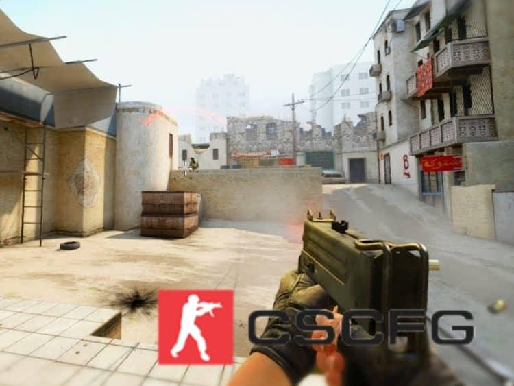 Как крутить оружие в CS:GO