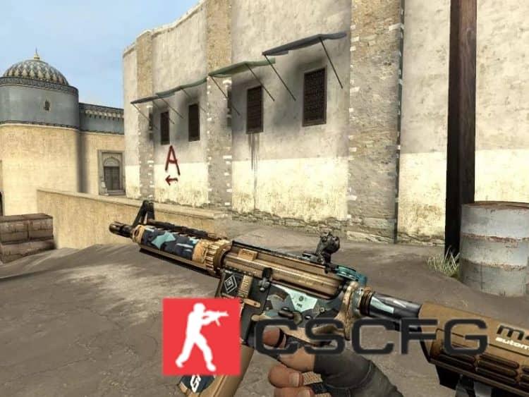 Как поднять оружие в CS:GO ?