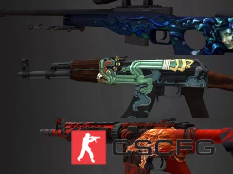 Контрабандное оружие в Csgo