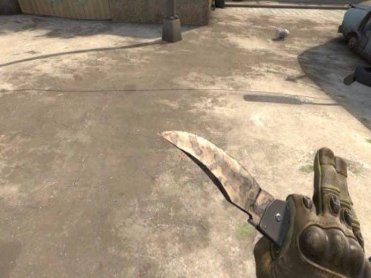 Красивые ножи до 10000 рублей в Csgo 3
