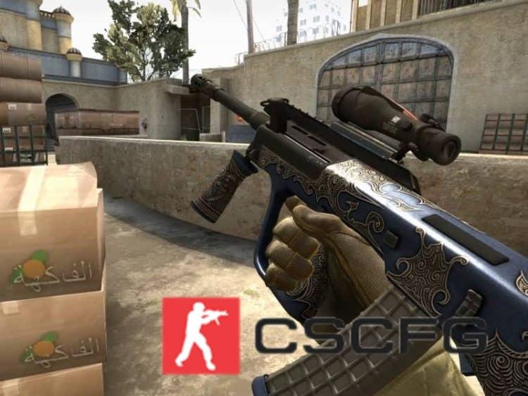 Запрещенное оружие в Csgo 1