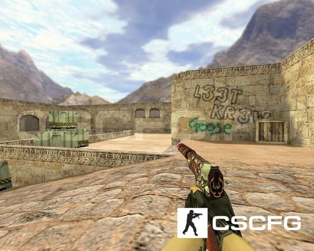 Модель USP Убийство подтверждено для CS1.6